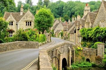 A Sleepy Village in England